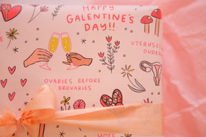 Galentine's Wrapping Paper 20x29