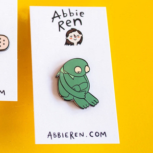 Sad Kermit Hard Enamel Pin