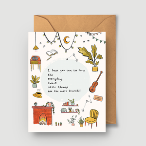 I Hope You Can See Greeting Card