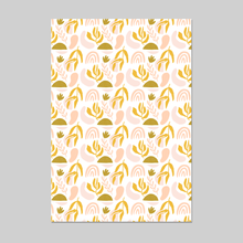 Load image into Gallery viewer, Shapes Party Wrapping Paper 20x29