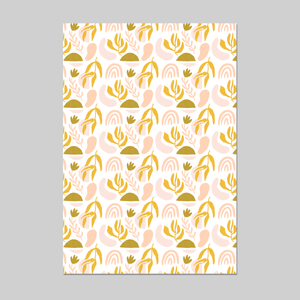 Shapes Party Wrapping Paper 20x29