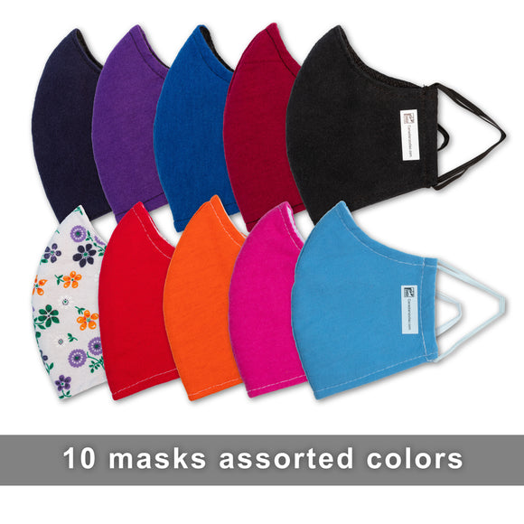 Canadian Zodiac - Face Mask - Assorted Colors - 10 pack