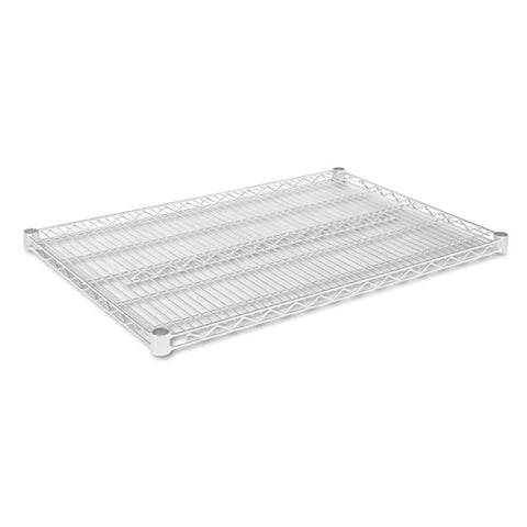 Industrial Wire Shelving Extra Wire Shelves, 36w X 24d, Silver, 2 Shelves-carton