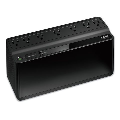 Smart-ups 600 Va Battery Backup System, 7 Outlets, 490 J