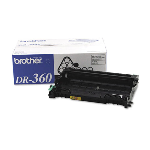 Dr360 Drum Unit, 12,000 Page-yield, Black