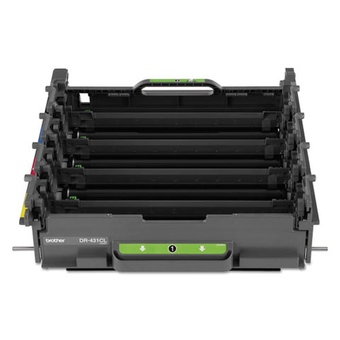 Dr431cl Drum Unit, 30,000 Page-yield, Black-cyan-magenta-yellow