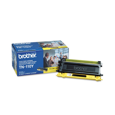 Tn110y Toner, 1,500 Page-yield, Yellow