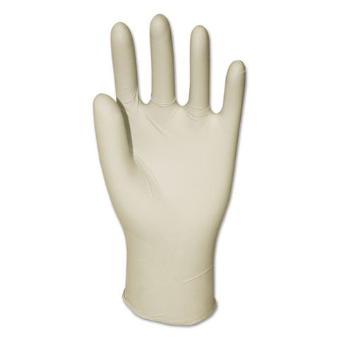 General-purpose Latex Gloves, Natural, Medium, Powder-free, 4.4 Mil, 1000-ctn