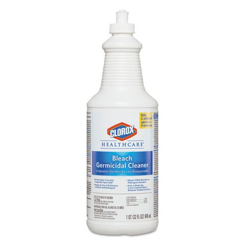Bleach Germicidal Cleaner, 32 Oz Pull-top Bottle