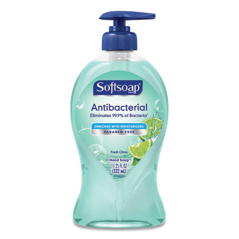 Antibacterial Hand Soap, Fresh Citrus, 11 1-4 Oz Pump Bottle