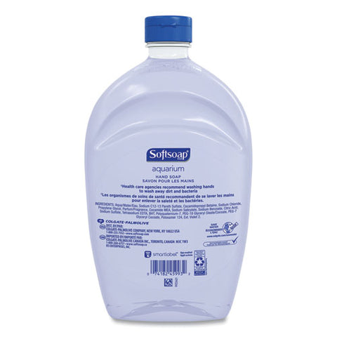 Liquid Hand Soap Refills, Fresh, 50 Oz, 6-carton