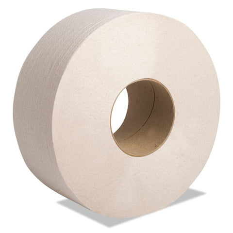 "Perform Moka Jumbo Roll Tissue, Septic Safe, 2-ply, Beige, 3 1-2"" X 1000 Ft, 12 Rolls-carton"