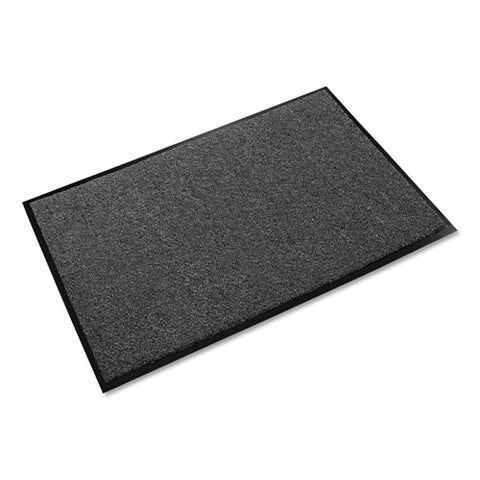 Rely-on Olefin Indoor Wiper Mat, 48 X 72, Charcoal