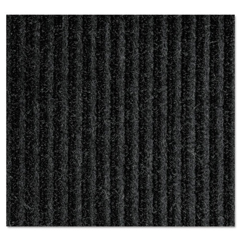 Needle-rib Wiper-scraper Mat, Polypropylene, 36 X 48, Charcoal