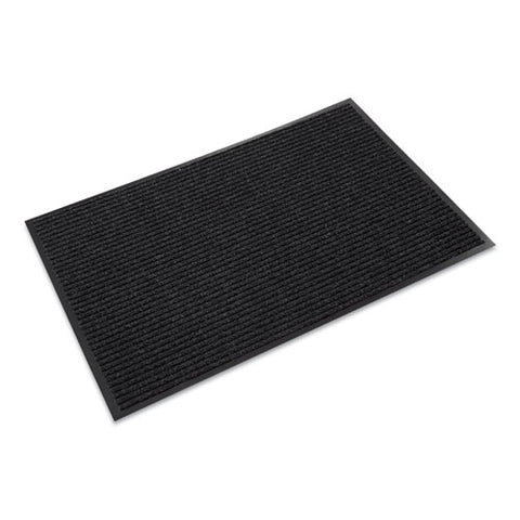 Needle-rib Wiper-scraper Mat, Polypropylene, 48 X 72, Charcoal