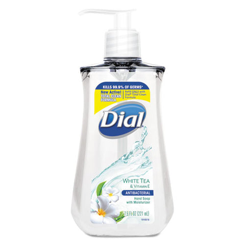 Antibacterial Liquid Soap, White Tea, 7.5 Oz Pump Bottle