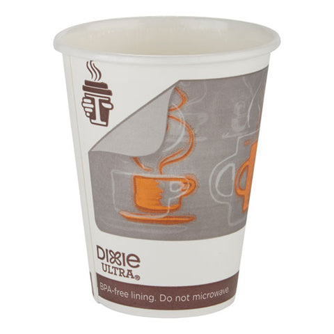 Dixie Ultra Insulair Paper Hot Cup, 20 Oz, Coffee, 40 Cups-sleeve, 15 Sleeves-ct