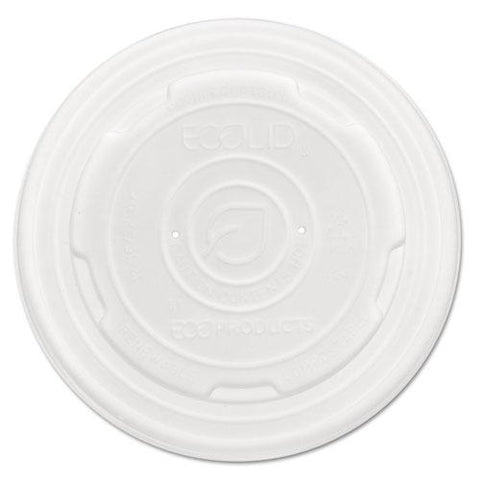 Ecolid Renew And Comp Food Container Lids For 12 Oz, 16 Oz, 32 Oz, 50-pack, 10 Packs-carton