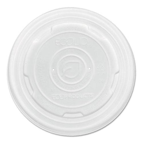 Ecolid Renewable And Compost Food Container Lids, Fits 8 Oz Sizes, 50-pack, 20 Packs-carton