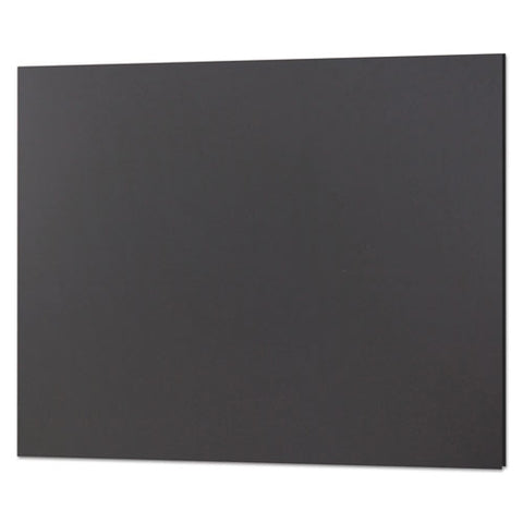 Cfc-free Polystyrene Foam Board, 20 X 30, Black Surface And Core, 10-carton