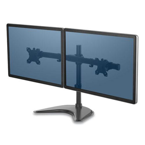 "Professional Series Freestanding Dual Horizontal Monitor Arm, Up To 30"", Up To 17 Lbs"