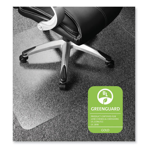 Cleartex Ultimat Xxl Polycarb. Square General Office Mat For Carpets, 60 X 60, Clear