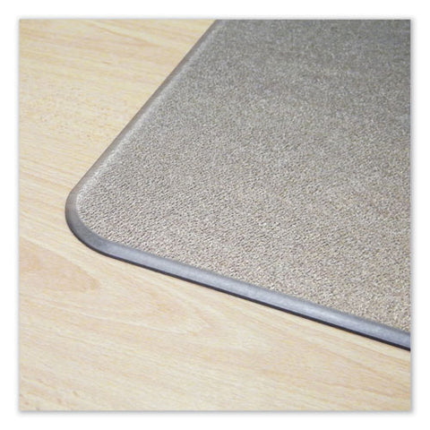 Cleartex Megamat Heavy-duty Polycarbonate Mat For Hard Floor-all Carpet, 46 X 60, Clear