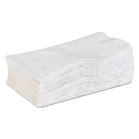 Acclaim Dinner Napkins, 1-ply, White, 15 X 17, 200-pack, 16 Pack-carton