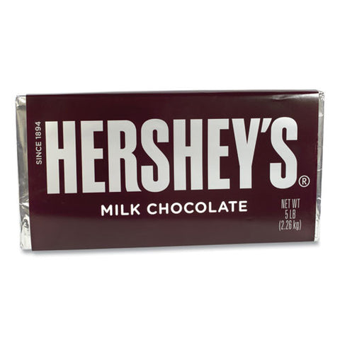 Milk Chocolate Bar, 5 Lb Bar, Free Delivery In 1-4 Business Days