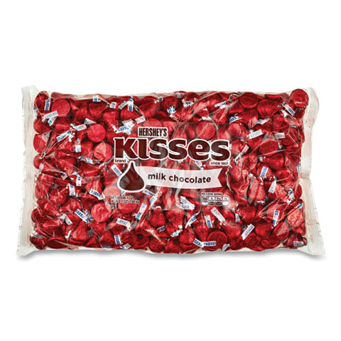 Kisses, Milk Chocolate, Red Wrappers, 66.7 Oz Bag, Free Delivery In 1-4 Business Days