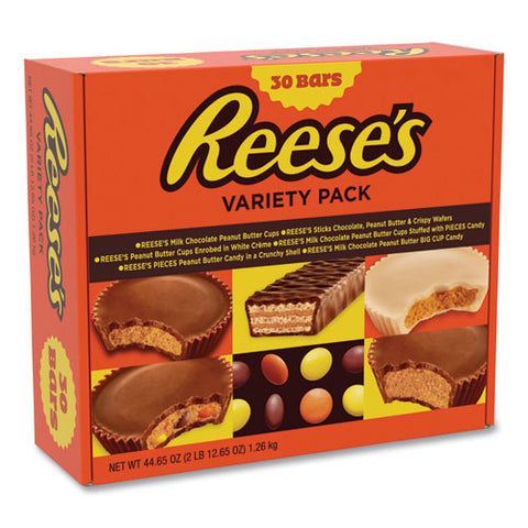 Variety Pack Assortment, 44.65 Oz Box, 30 Bars-box, Free Delivery In 1-4 Business Days