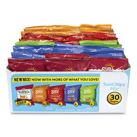 Variety Mix, Assorted Flavors, 1.5 Oz Bags, 30 Bags-box, Free Delivery In 1-4 Business Days