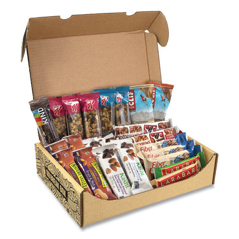 Healthy Snack Bar Box, 23 Assorted Snacks, Free Delivery In 1-4 Business Days