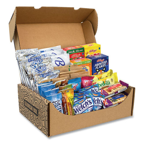 Breakfast Snack Box, 41 Assorted Snacks, Free Delivery In 1-4 Business Days