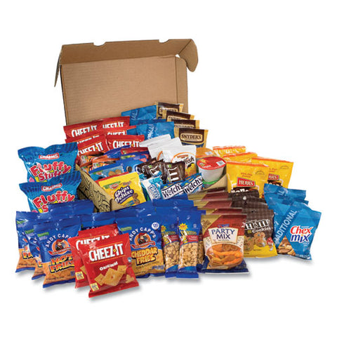 Big Party Snack Box, 75 Assorted Snacks, Free Delivery In 1-4 Business Days