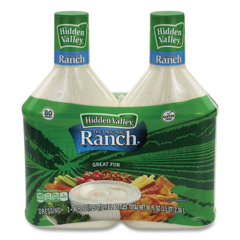 Original Ranch Dressing, 40 Oz Bottle, 2 Bottles-pack, Free Delivery In 1-4 Business Days