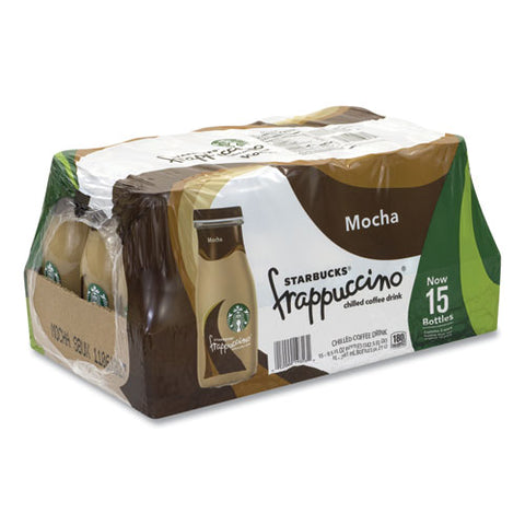 Frappuccino Coffee, 9.5 Oz Bottle, Mocha, 15-pack, Free Delivery In 1-4 Business Days