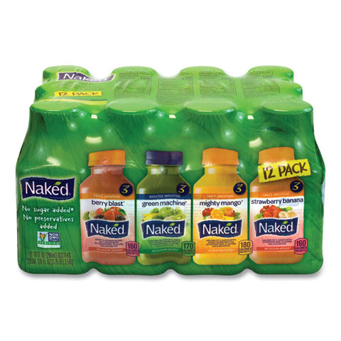 Juice Variety Pack, 10 Oz, Assorted Flavors, 12-carton, Free Delivery In 1-4 Business Days