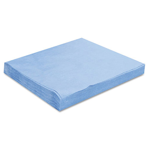 Sontara Ec Engineered Cloths, 12 X 12, Blue, 100-pack, 10 Packs-carton