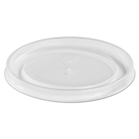 Plastic High Heat Vented Lid, Fits 16-32 Oz, White, 50-bag, 10-bags Carton