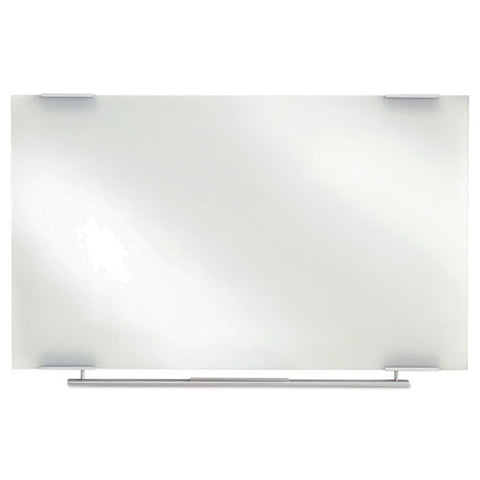 Clarity Glass Dry Erase Boards, Frameless, 72 X 36