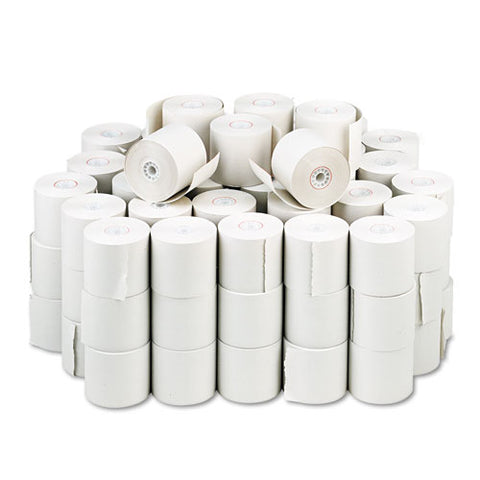 "Impact Bond Paper Rolls, 2.25"" X 150 Ft, White, 100-carton"