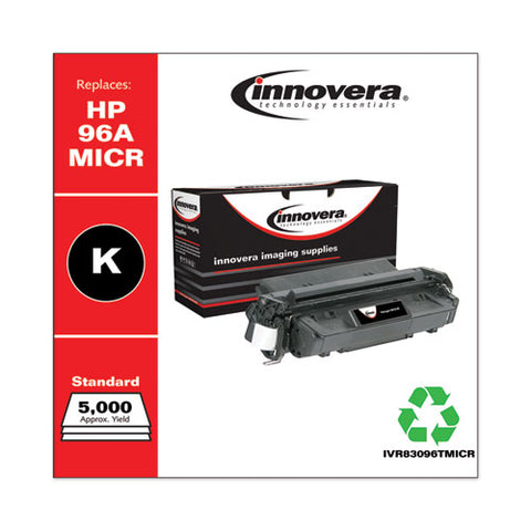Remanufactured Black Micr Toner, Replacement For Hp 96am (c4096am), 5,000 Page-yield