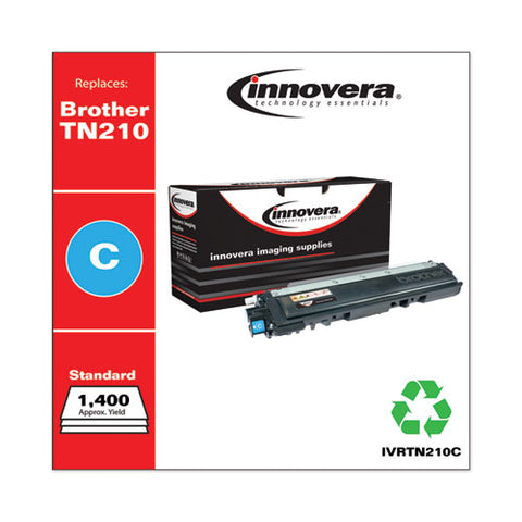 Remanufactured Cyan Toner, Replacement For Brother Tn210c, 1,400 Page-yield