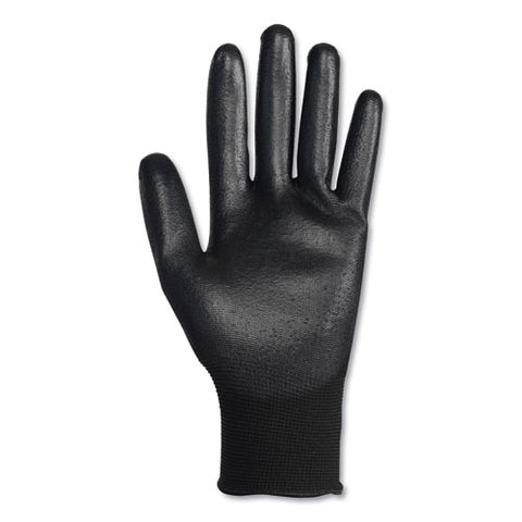 G40 Polyurethane Coated Gloves, 220 Mm Length, Small, Black, 60 Pairs