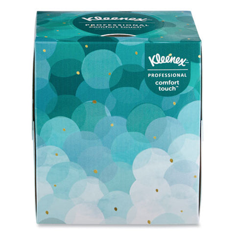 Boutique White Facial Tissue, 2-ply, Pop-up Box, 95 Sheets-box