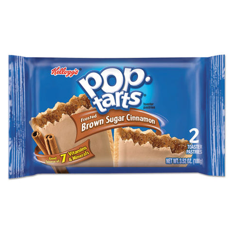 Pop Tarts, Frosted Brown Sugar Cinnamon, 3.52 Oz, 2-pack, 6 Packs-box