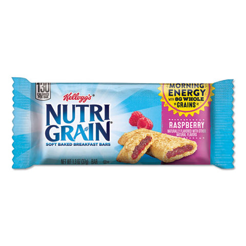 Nutri-grain Soft Baked Breakfast Bars, Raspberry, Indv Wrapped 1.3 Oz Bar, 16-box