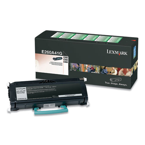 E260a41g Return Program Toner, 3,500 Page-yield, Black