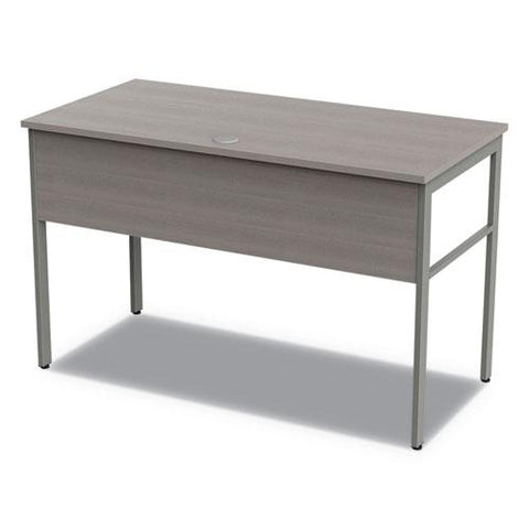 Urban Desk Workstation, 47.25w X 23.75d X 29.5h, Ash